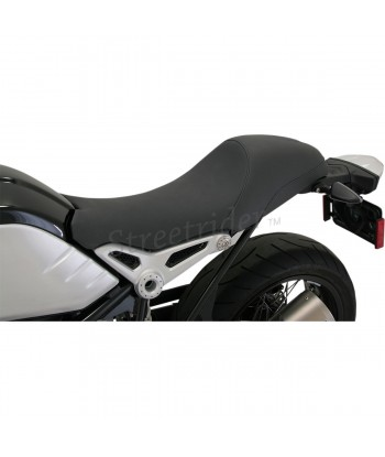 SELLA IN PELLE RSD CAFE RACER TRACTION II NERA PER BMW R NINE T ABS  2014-2018