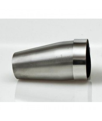CONIC ADAPTER Ø 60 TO 40MM LENGTH 110 MM STAINLESS STEEL FOR EXHAUST MUFFLER MOTORCYCLE