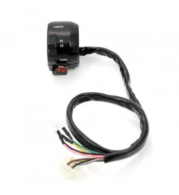 CONTROL PANEL LOCK LEFT BLACK ARROWS/HORN/HI-LO FOR YAMAHA MOTORCYCLE HANDLEBARS