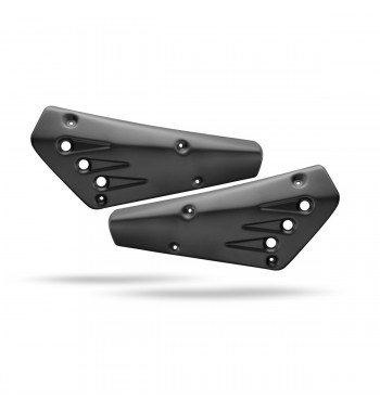 REAR SIDE COVERS BLACK CAFE RACER FOR YAMAHA XSR 700