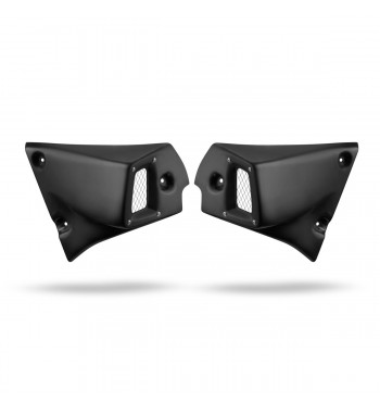 FRONT SIDE COVERS BLACK CAFE RACER FOR YAMAHA XSR 700