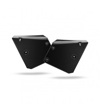 FRONT NUMBER PLATES COVERS BLACK CAFE RACER FOR YAMAHA XSR 700