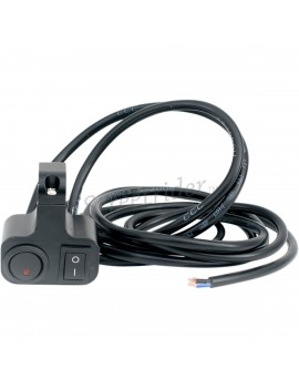 DOUBLE SWITCH HANDLEBAR ON/OFF 22 MM MOTORCYCLE
