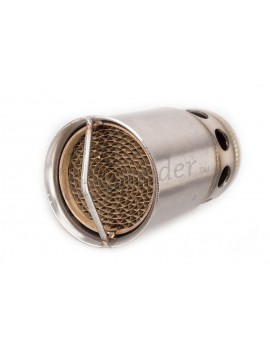 BAFFLE QUIET CATALYST SILENCER DB KILLER 49.5 MM FOR EXHAUST MUFFLER CAFE RACER MOTORCYCLE