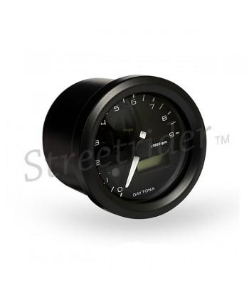 CONTAGIRI 48 MM VELONA NERO 9000 RPM PER MOTO CAFE RACER