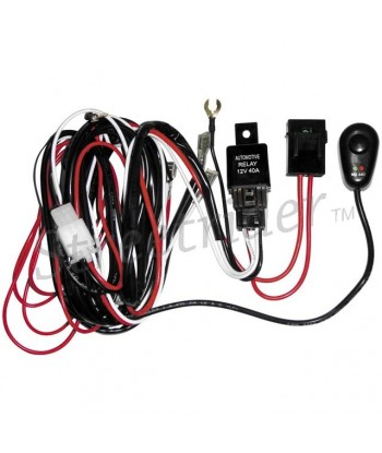 WIRING KIT FOR AUXILIARY LED SPOTLIGHTS MOTORCYCLE